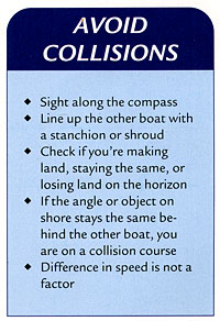 avoid sailboat collisions