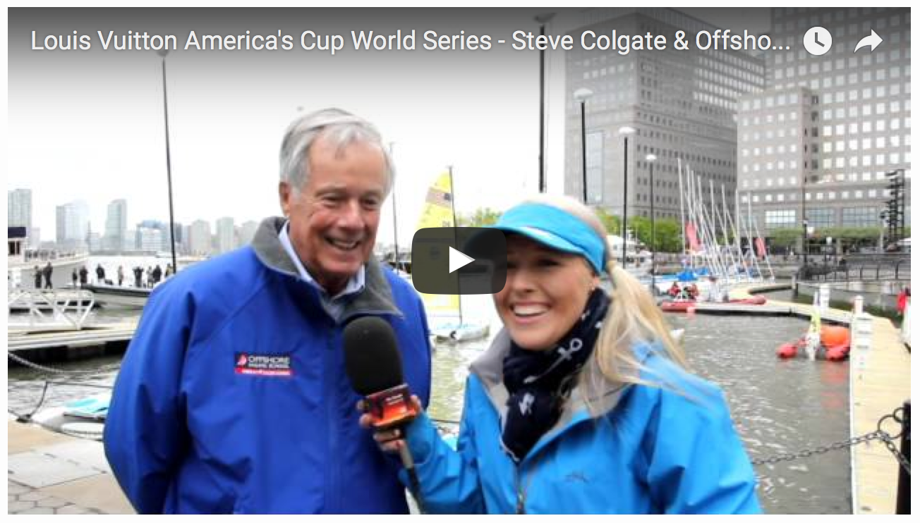 Videos showcasing the America's Cup Endeavour Programme in New York City